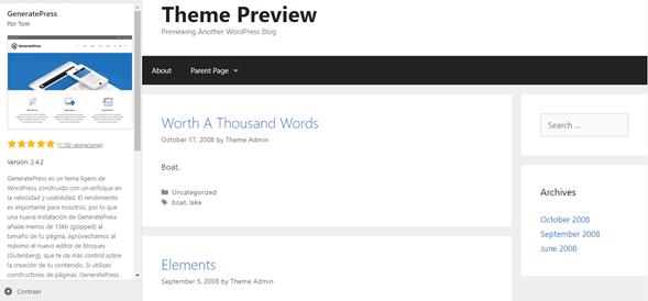 generatepress-crear-página-wordpress