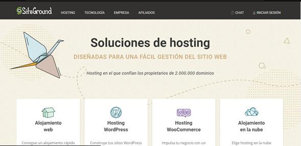 siteground-crear-una-página-web-en-wordpress